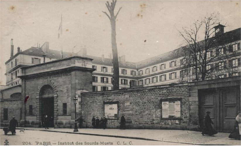 Photo of Institution des sourds-muets à Paris