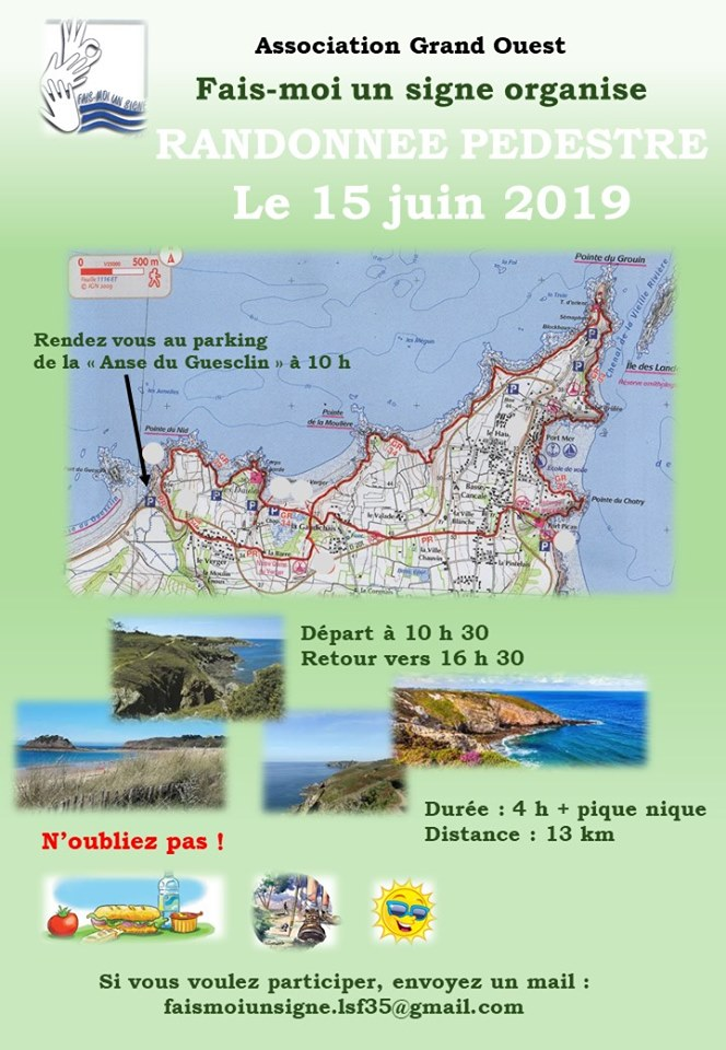Photo of 15 Juin : Randonnee pedestre à Saint-malo