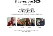 "Photo of 8 Novembre : Conférence ""Agriculture"" à Monchecourt"