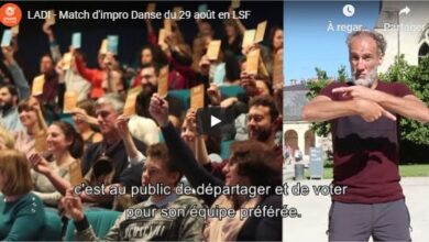Photo of 29 Août : Match d'impro Danse à Angers