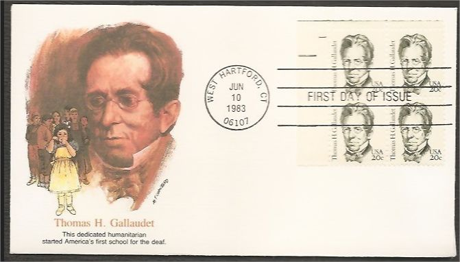 Photo of 1983 : Thomas H. Gallaudet