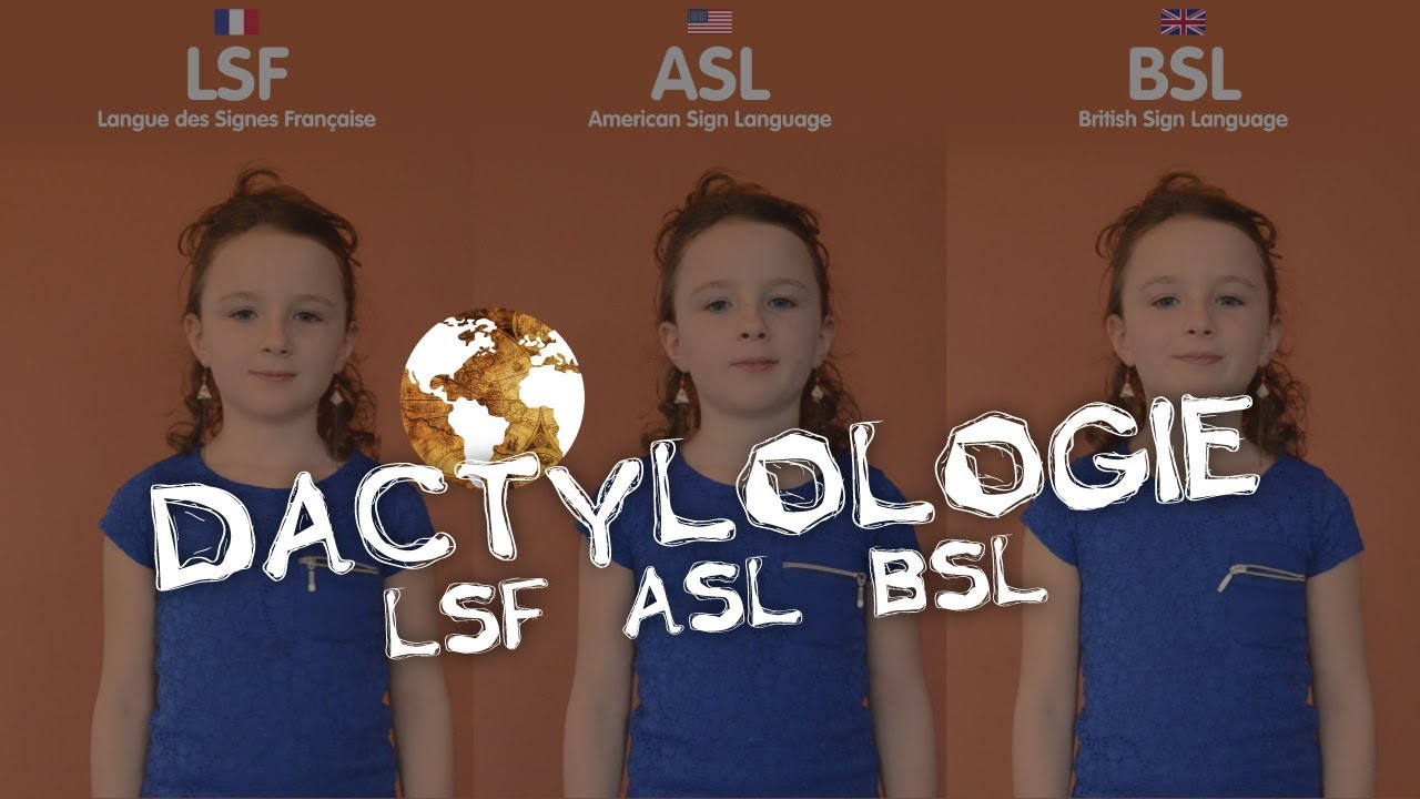 Photo of Dactylologie – LSF ASL BSL