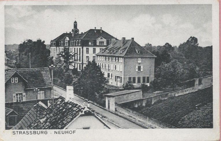 Photo of Institution des sourds-muets à Strasbourg