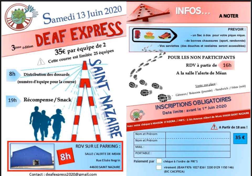 Photo of 13 Juin : Deaf express à Sint-Nazaire