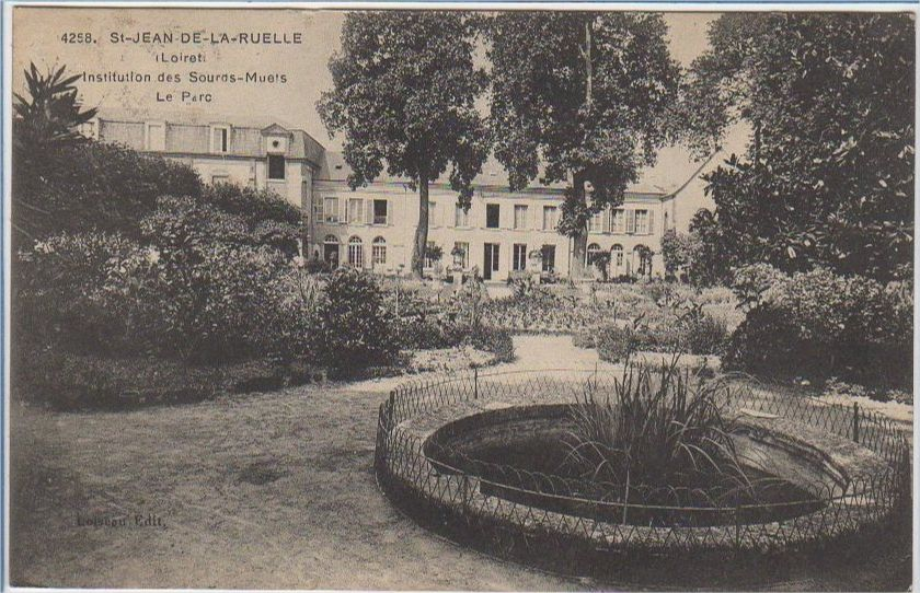 Photo of Institution des sourds-muets à Saint-Jean-de-la-Ruelle